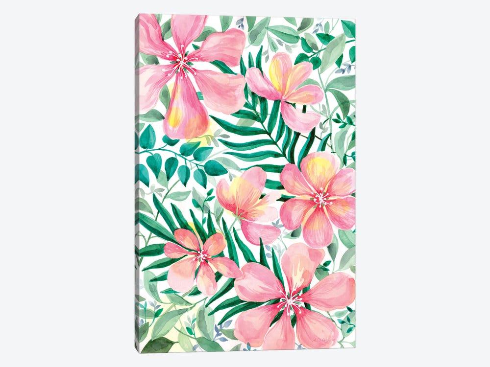 Pink Garden by Alexandra Dobreikin 1-piece Art Print