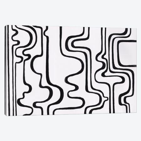 Labyrinth Of Thoughts Canvas Print #ADN47} by Alexandra Dobreikin Canvas Print