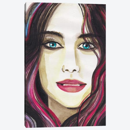 I Waited. Canvas Print #ADN53} by Alexandra Dobreikin Art Print