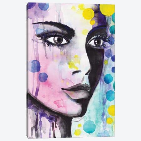 Thousand Thoughts Canvas Print #ADN60} by Alexandra Dobreikin Canvas Wall Art