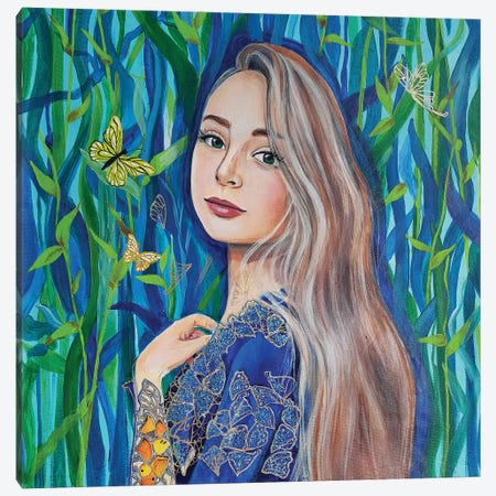 Diana II Canvas Print #ADN61} by Alexandra Dobreikin Canvas Wall Art