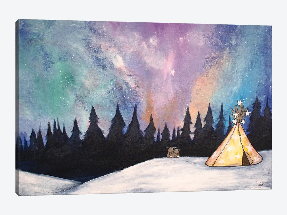 Northern Lights by Andrea Doss 1-piece Canvas Art