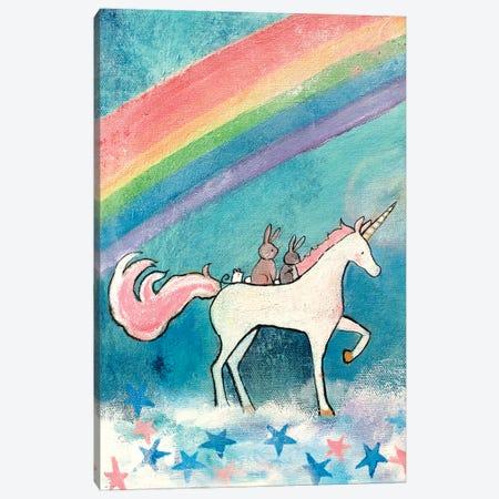 Rainbow Road Canvas Print #ADO13} by Andrea Doss Canvas Wall Art