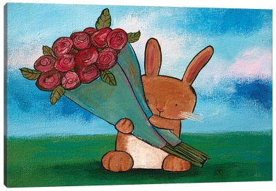 Some Bunny Loves You Canvas Art Print