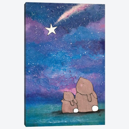 The Wishing Star Canvas Print #ADO22} by Andrea Doss Canvas Print
