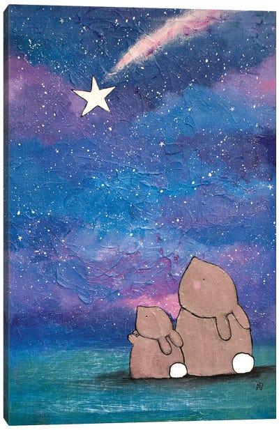 The Wishing Star Canvas Art Print