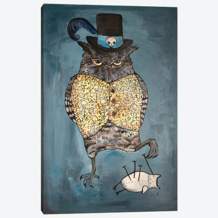 The Witch Doctor Canvas Print #ADO23} by Andrea Doss Canvas Art Print