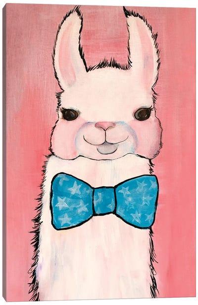 Dapper Llama Canvas Art Print