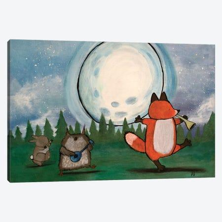 Moonlight Singing Canvas Print #ADO9} by Andrea Doss Canvas Print