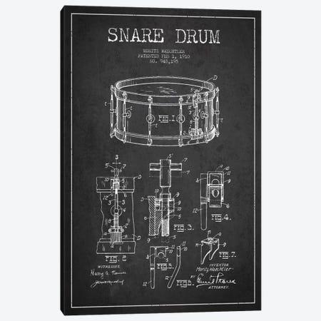 Waechtler Snare Charcoal Patent Blueprint Canvas Print #ADP1069} by Aged Pixel Canvas Wall Art
