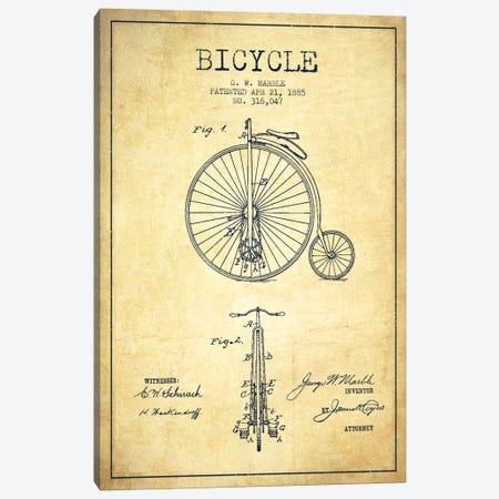 Bike vintage patent blueprint canvas wall art by aged pixel icanvas marble bike vintage patent blueprint canvas print adp2589 by aged pixel canvas art print malvernweather Image collections