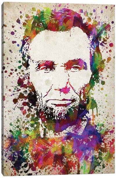 Abraham Lincoln Canvas Art Print