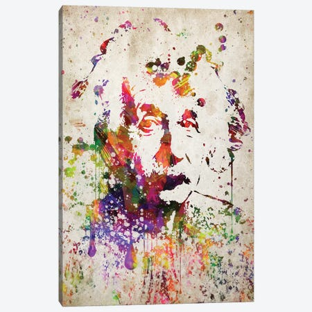 Albert Einstein Canvas Print #ADP2772} by Aged Pixel Canvas Art
