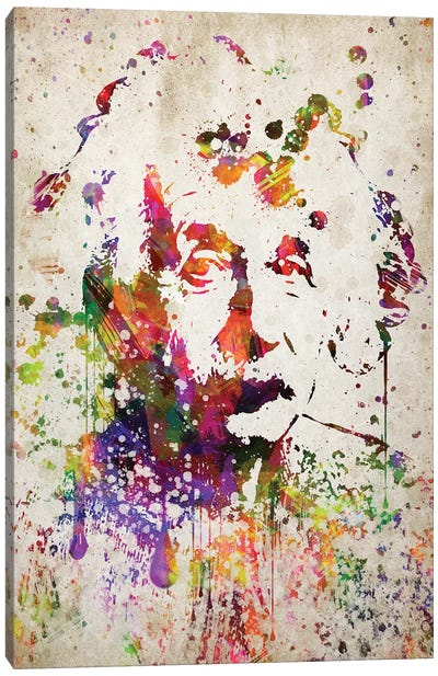 Albert Einstein Canvas Art Print