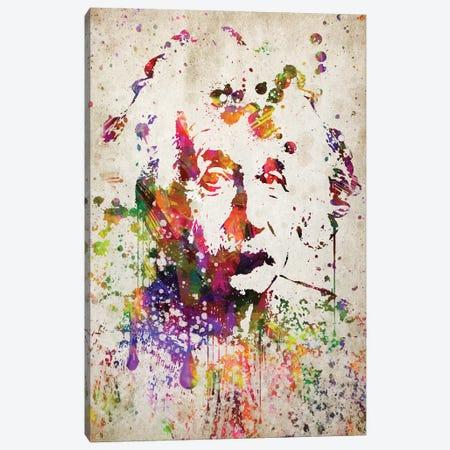 Albert Einstein Canvas Print #ADP2772} by Aged Pixel Canvas Art