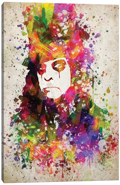 Alice Cooper Canvas Art Print