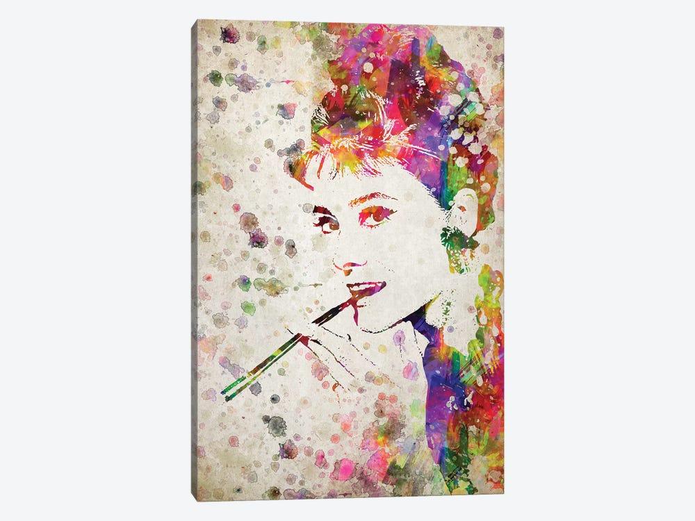 Audrey Hepburn by Aged Pixel 1-piece Art Print