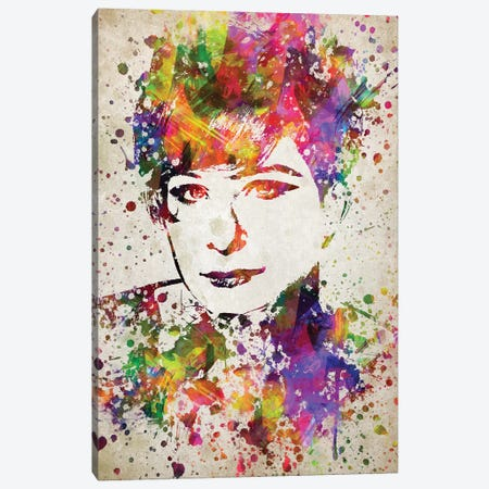 Barbara Streisand Canvas Print #ADP2798} by Aged Pixel Canvas Art