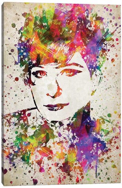 Barbara Streisand Canvas Art Print