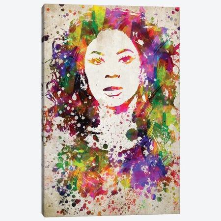 Beyoncé Canvas Print #ADP2799} by Aged Pixel Canvas Wall Art
