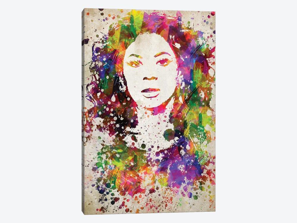 Beyoncé by Aged Pixel 1-piece Canvas Art Print