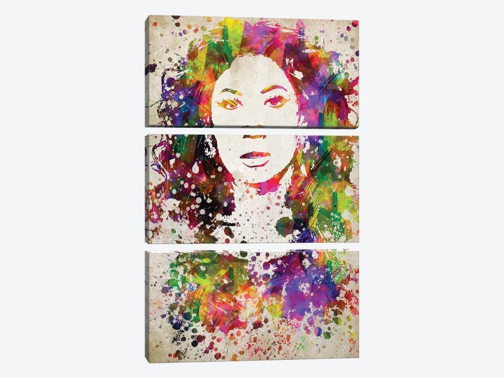 Beyoncé by Aged Pixel 3-piece Art Print