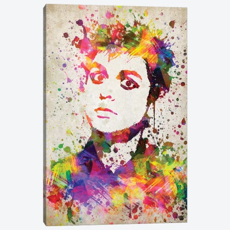 Billie Armstrong Canvas Print #ADP2801} by Aged Pixel Canvas Wall Art