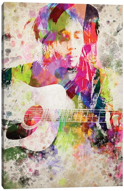 Bob Marley Canvas Art Print