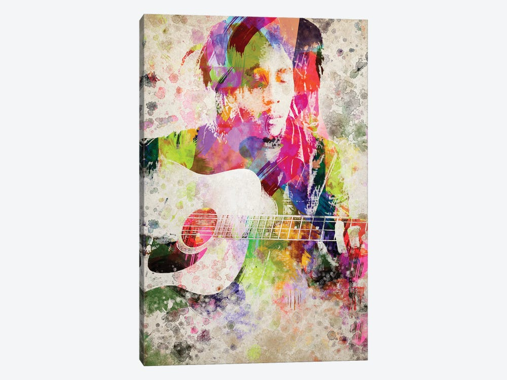 Bob Marley by Aged Pixel 1-piece Canvas Print