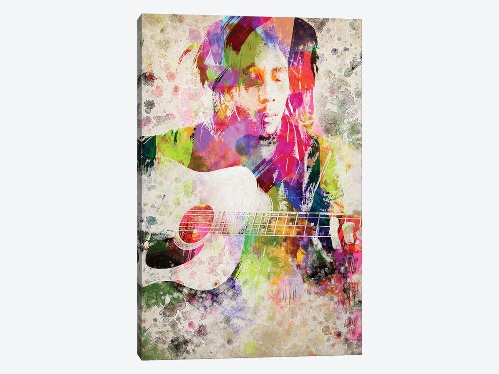 Bob Marley by Aged Pixel 1-piece Canvas Print