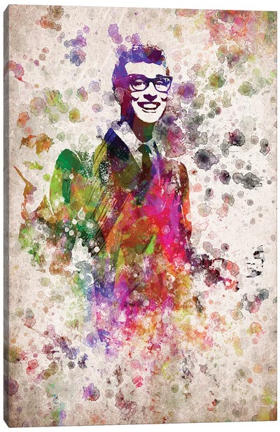 Buddy Holly Canvas Art Print