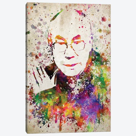 Dalai Lama Canvas Print #ADP2827} by Aged Pixel Canvas Art Print