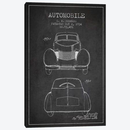 G.M. Buehrig Cord Automobile (Charcoal) II Canvas Print #ADP2914} by Aged Pixel Canvas Print