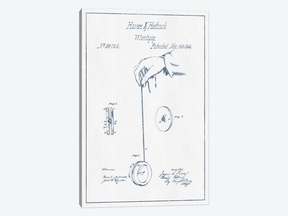 Haven & Hettrich Whirligig Patent Sketch (Ink) by Aged Pixel 1-piece Art Print