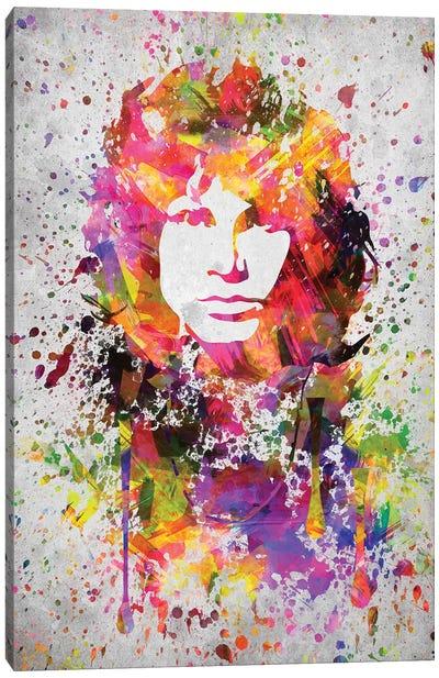 Jim Morrison Canvas Art Print