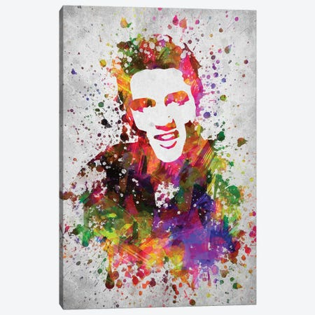 King Of Rock Canvas Print #ADP3018} by Aged Pixel Canvas Artwork