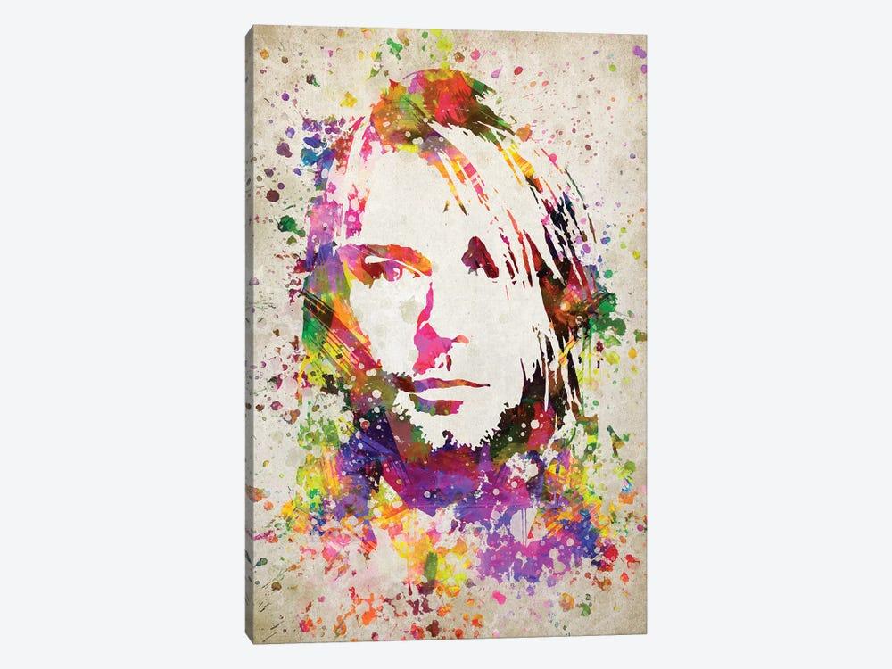 Kurt Cobain by Aged Pixel 1-piece Canvas Art