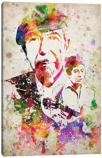Leonard Cohen Canvas Art Print