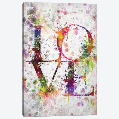 Love Canvas Print #ADP3034} by Aged Pixel Canvas Art Print
