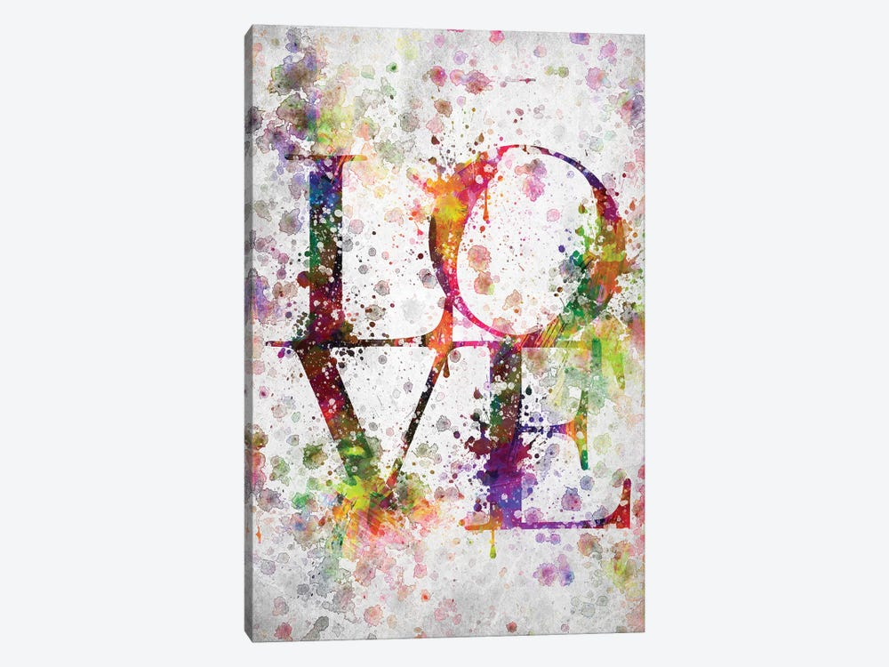 Love by Aged Pixel 1-piece Canvas Print