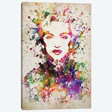 Madonna Canvas Print #ADP3037} by Aged Pixel Canvas Art Print