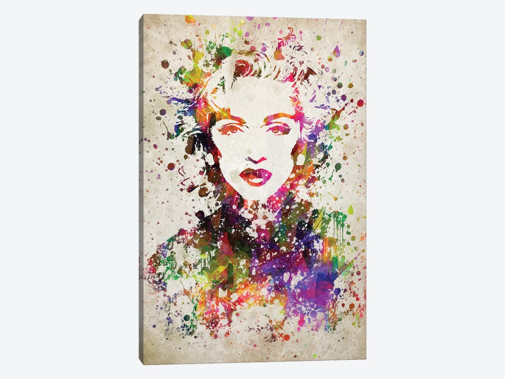 Madonna by Aged Pixel 1-piece Canvas Art