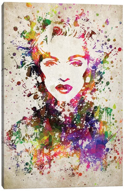 Madonna Canvas Art Print
