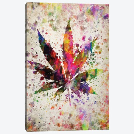 Marijuana Canvas Print #ADP3040} by Aged Pixel Canvas Print