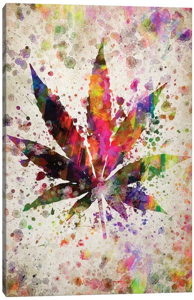 Marijuana Canvas Art Print