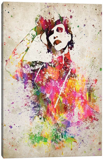 Marilyn Manson Canvas Art Print
