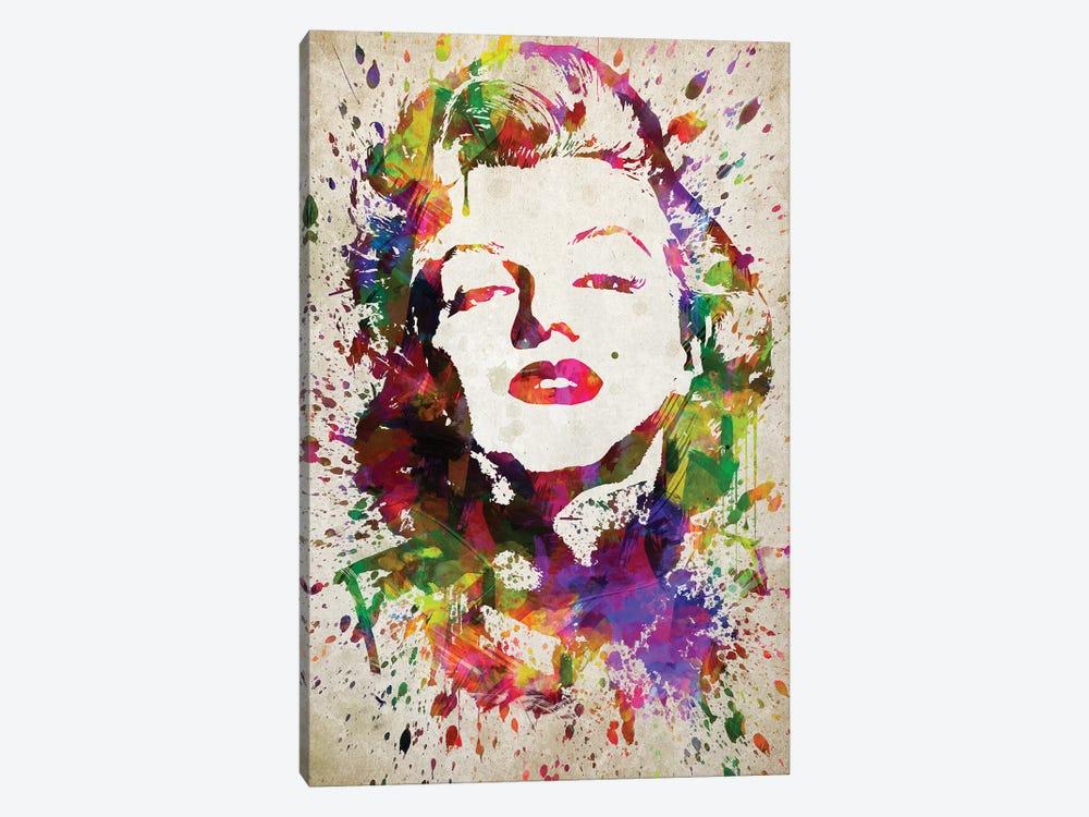 Marilyn Monroe by Aged Pixel 1-piece Canvas Wall Art