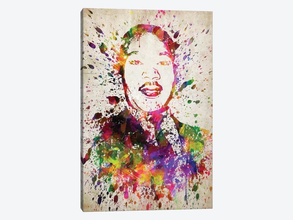 Martin Luther King by Aged Pixel 1-piece Canvas Print
