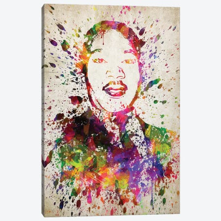 Martin Luther King Canvas Print #ADP3045} by Aged Pixel Canvas Artwork
