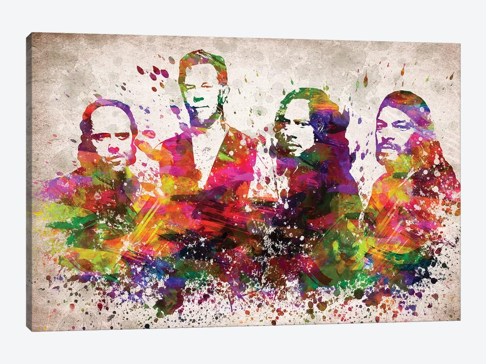 Metallica by Aged Pixel 1-piece Canvas Wall Art